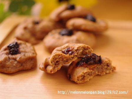 ふわモチ食感のプルーンクッキー
