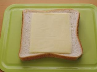 簡単チーズのカレートースト02