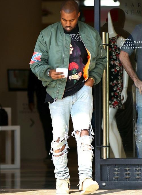 カニエ・ウェスト(Kanye West):Yeezus(イーザス)ヴィズヴィム(visvim)