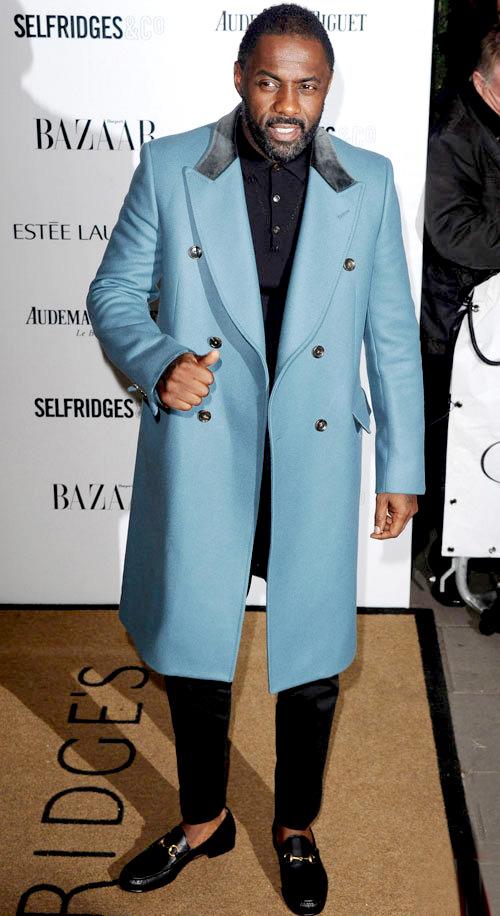 イドリス・エルバ(Idris Elba):グッチ(GUCCI)