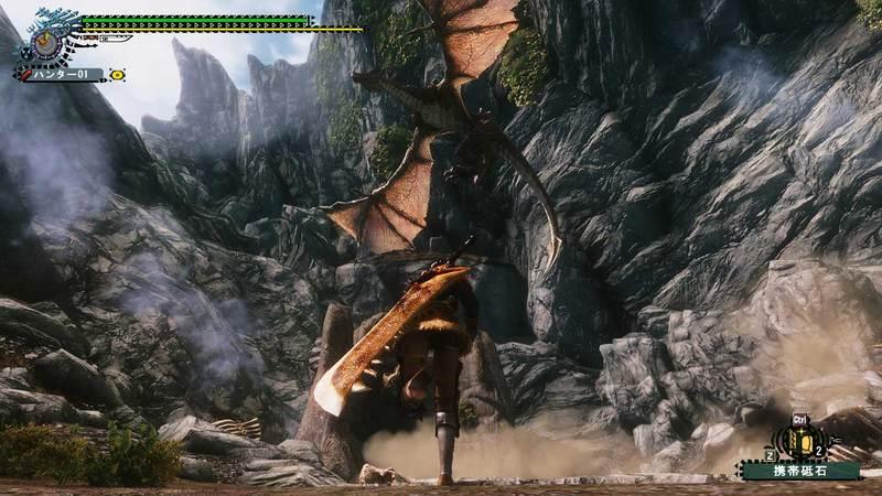 PS3で開発中のモンハン5画像が流出!!!!!