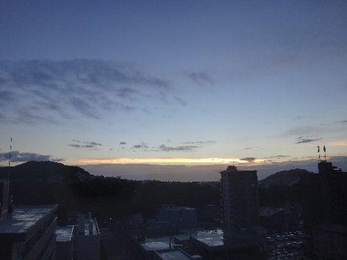 2013年9月5日朝焼け 001
