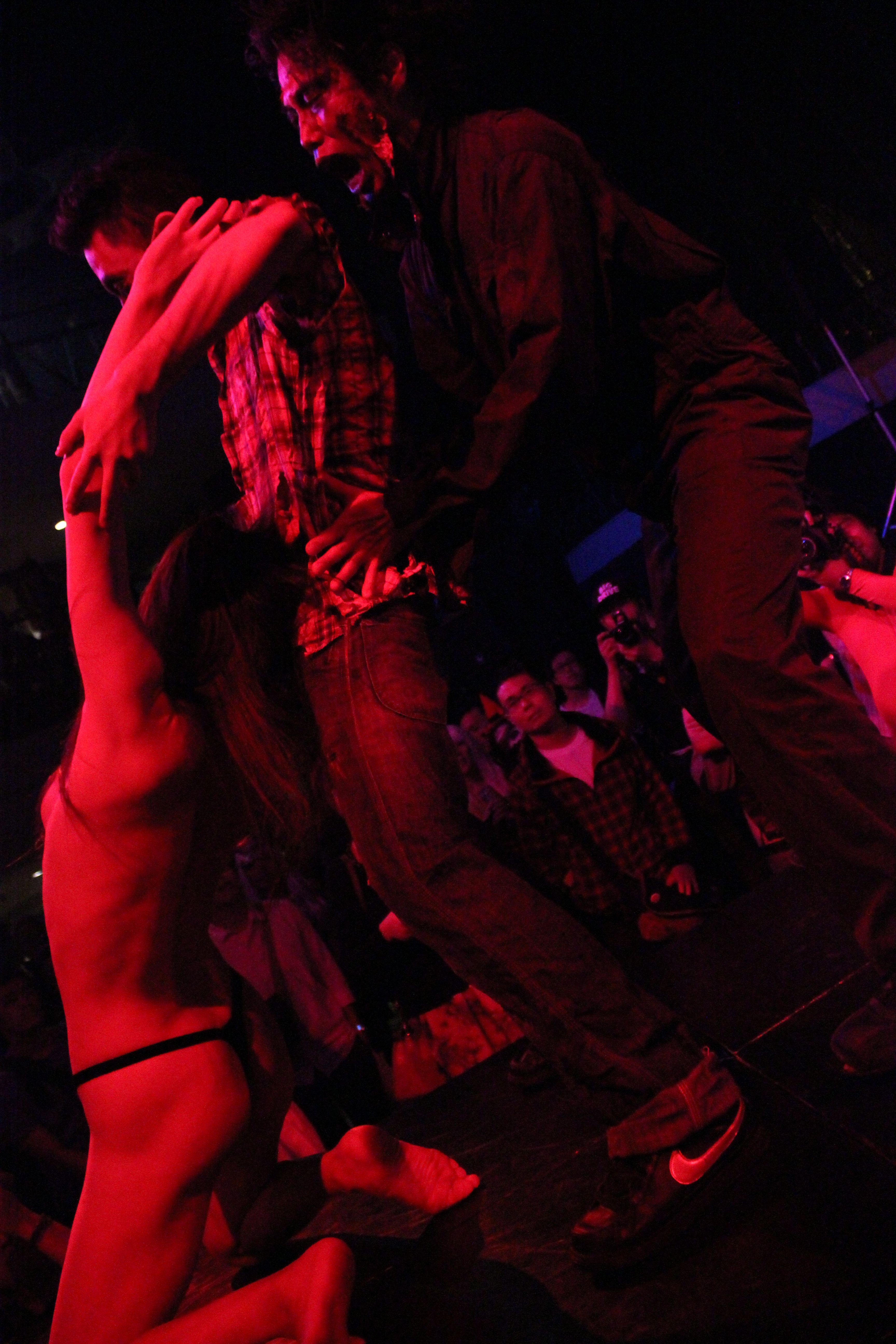 デパートメントH 2099@鶯谷東京キネマ倶楽部 2014年11月~1日遅れのハロウィンパーティーで 「Trick or Treat?」