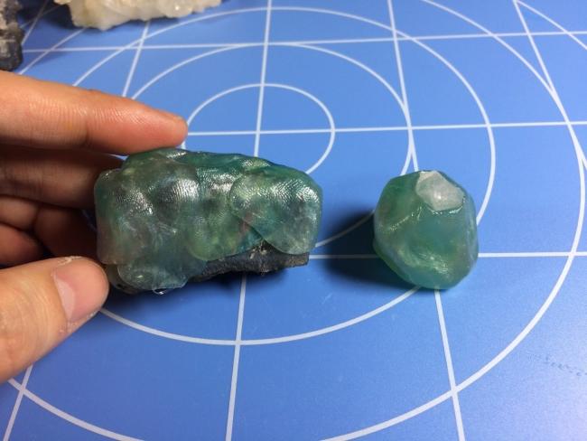 05 水晶・鉱物レジン 型