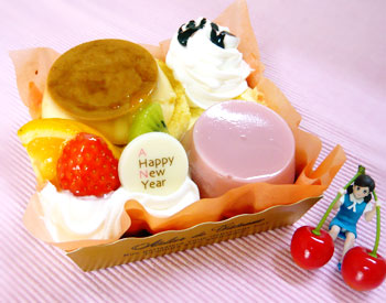 賀正ケーキ