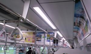 野田線60000系を見てみよう2 車内のLED照明