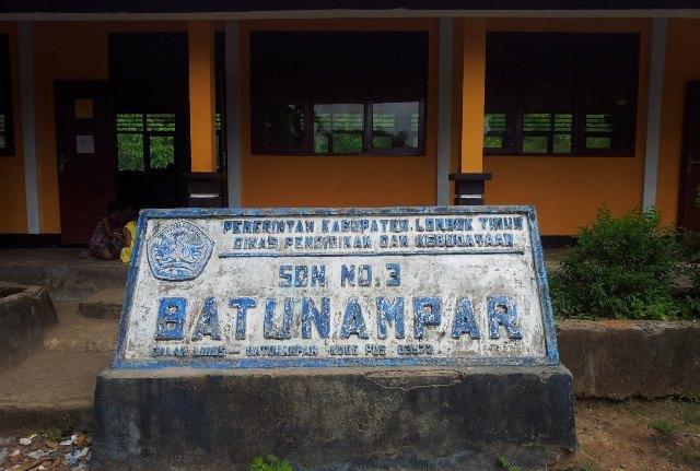第三小学校sd 3 batunampar22