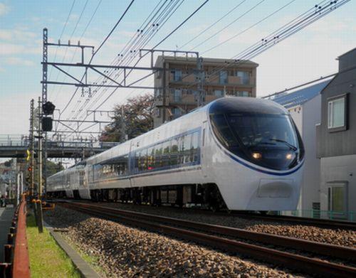 JR東海371系「あさぎり」(2011年11月26日・小田急線向ヶ丘遊園~生田間)