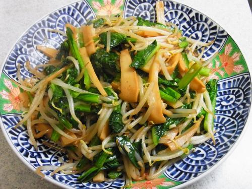 131229-231野菜とメンマの炒め(S)