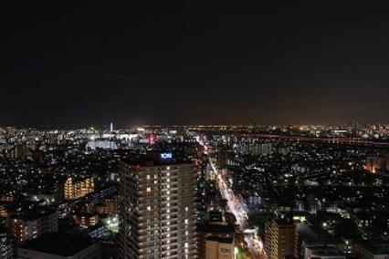 タワーホール船堀夜景