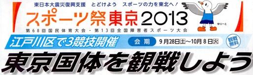 スポーツ祭2013