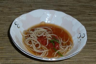 トマト青じそスープ