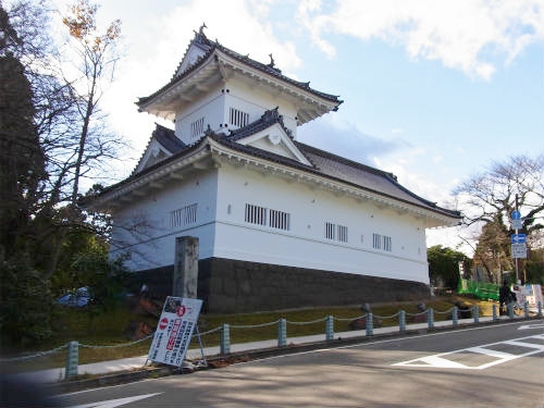 仙台城大手門脇の櫓