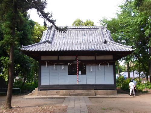 指扇氷川神社拝殿