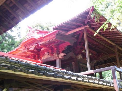 指扇氷川神社本殿