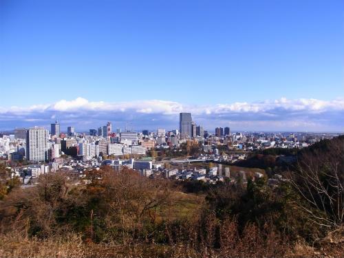 仙台城から