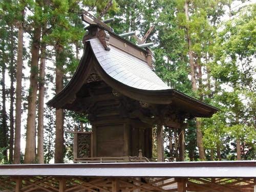 湫尾神社本殿