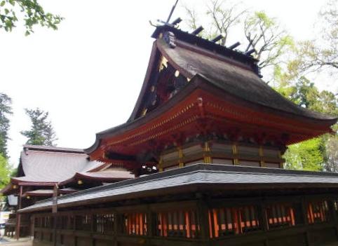 水戸八幡宮本殿 (2)