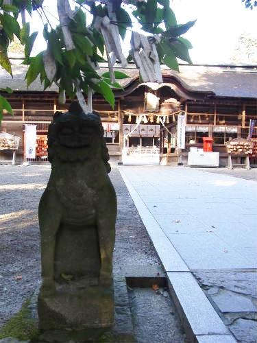 大崎八幡狛犬