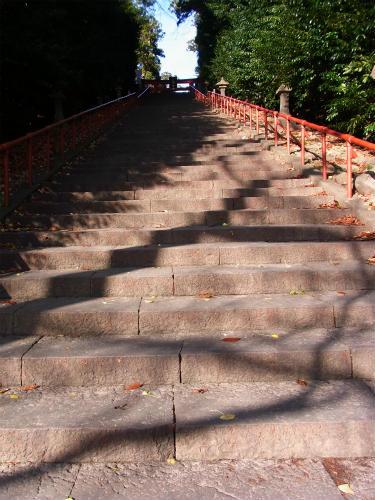 大崎八幡階段