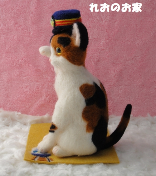 駅長まねき猫2
