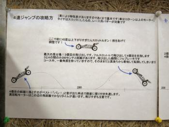 4連の飛び方(2)