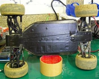 4WDのシャーシ保護