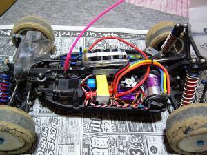 4WDのメカレイアウト