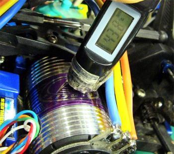 モーターの温度