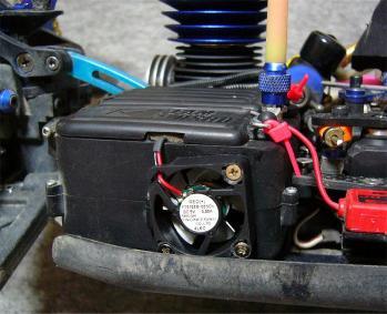 2.4G受信機の冷却(3)