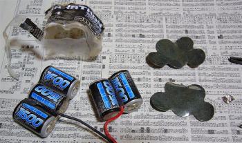 バッテリー分解