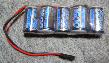 平型バッテリーの完成