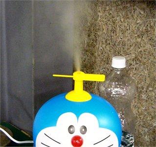 ドラえもんの加湿器