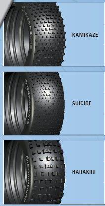LRPのハラキリタイヤ