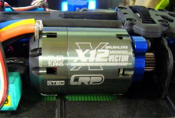 X12ブラシレスモーター