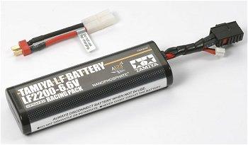 タミヤのLiFeバッテリー