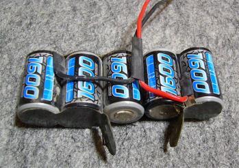 バッテリー改造中(2)