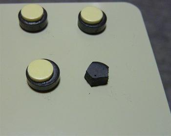 磁石を小さく加工