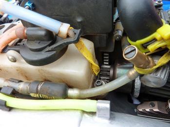 燃料タンクを閉めるゴム