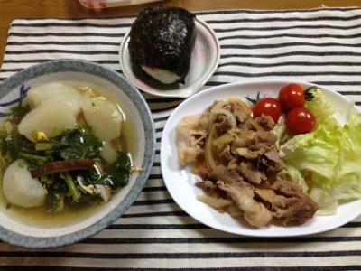2014.2.4晩飯2