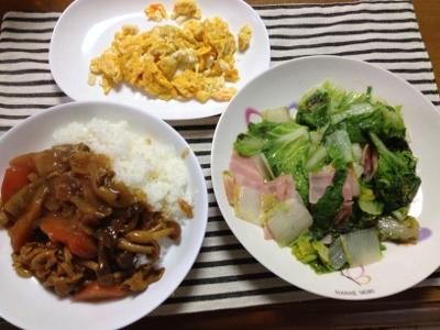 2014.2.11朝飯