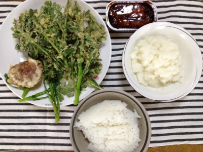 2014.2.16朝飯