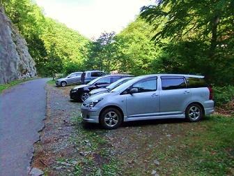 登山駐車場