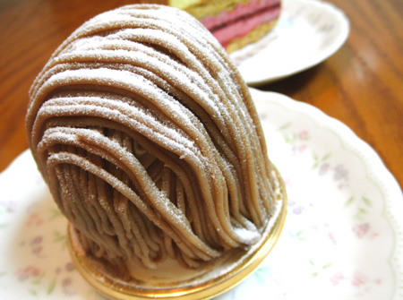 【ケーキ】ドゥーパティスリーカフェ「モンブラン」