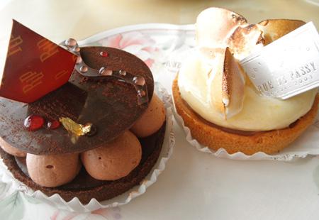 【ケーキ】リュードパッシー「タルト2種」02