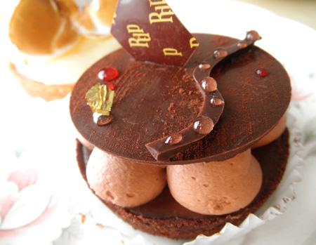 【ケーキ】リュードパッシー「タルト・ショコラ」