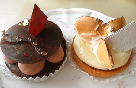 【ケーキ】リュードパッシー「タルト2種」