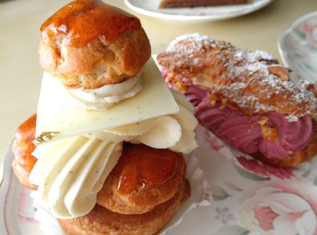 【ケーキ】リュードパッシー「サントノーレ」