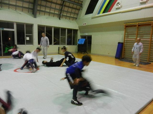 レスリング練習 030