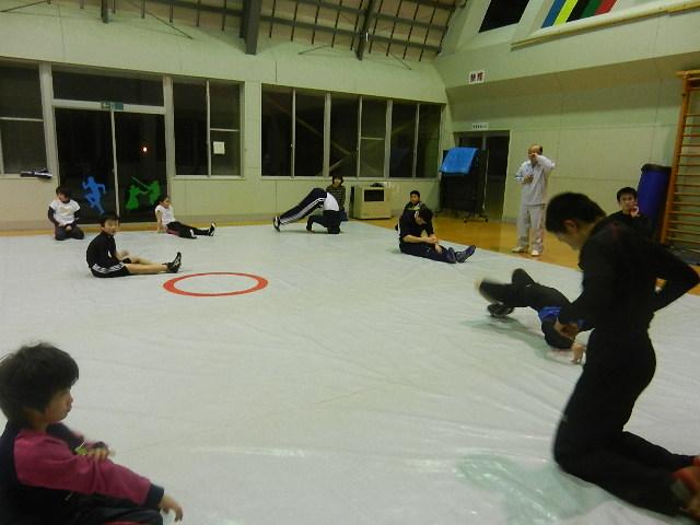 レスリング練習 021